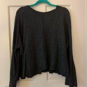 Dark grey Madewell sweater 💫